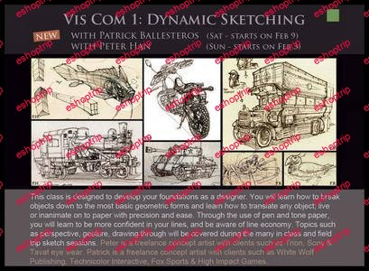Dynamic Sketching With Peter Han Vol. 1 2