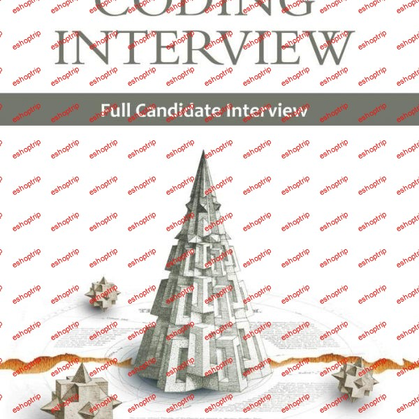 Full Candidate Interview Cracking the Coding Interview Video 1
