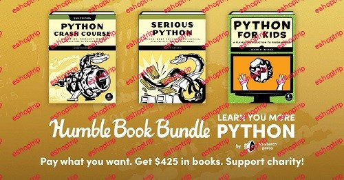 Humble Book Bundle Learn You More Python By No Starch Press
