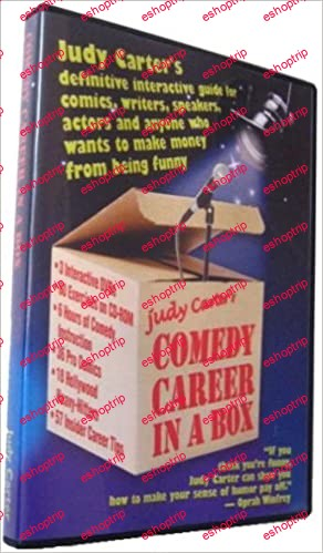 Judy Carter Comedy Career in a Box