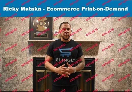 Ricky Mataka Ecommerce Print on Demand