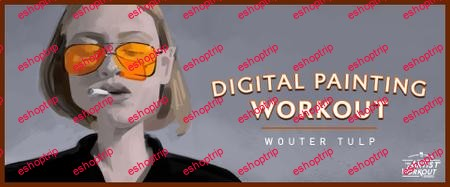Schoolism Digital Painting Workout with Wouter Tulp