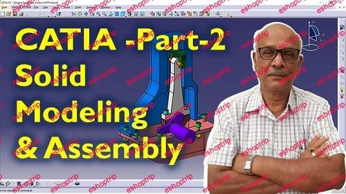 SkillShare CATIA Pro Training Part 2 3D Solid Modeling Part Design Workbench