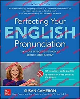 Susan Cameron Perfecting Your English Pronunciation