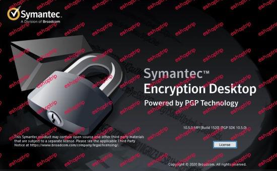 Symantec Encryption Desktop Professional 10.5.0 MP1
