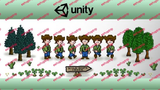 Unity 2D Game Developer Course Farming RPG
